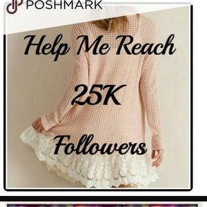Help me reach 25k by playing the follow game!